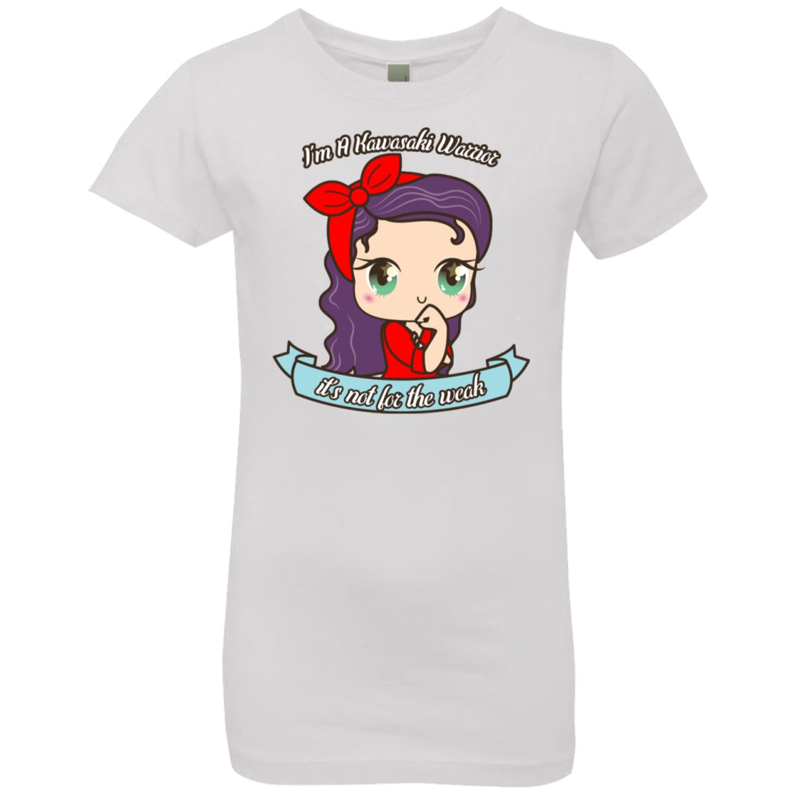 Cute Kawasaki Warrior Girls' Princess T-Shirt
