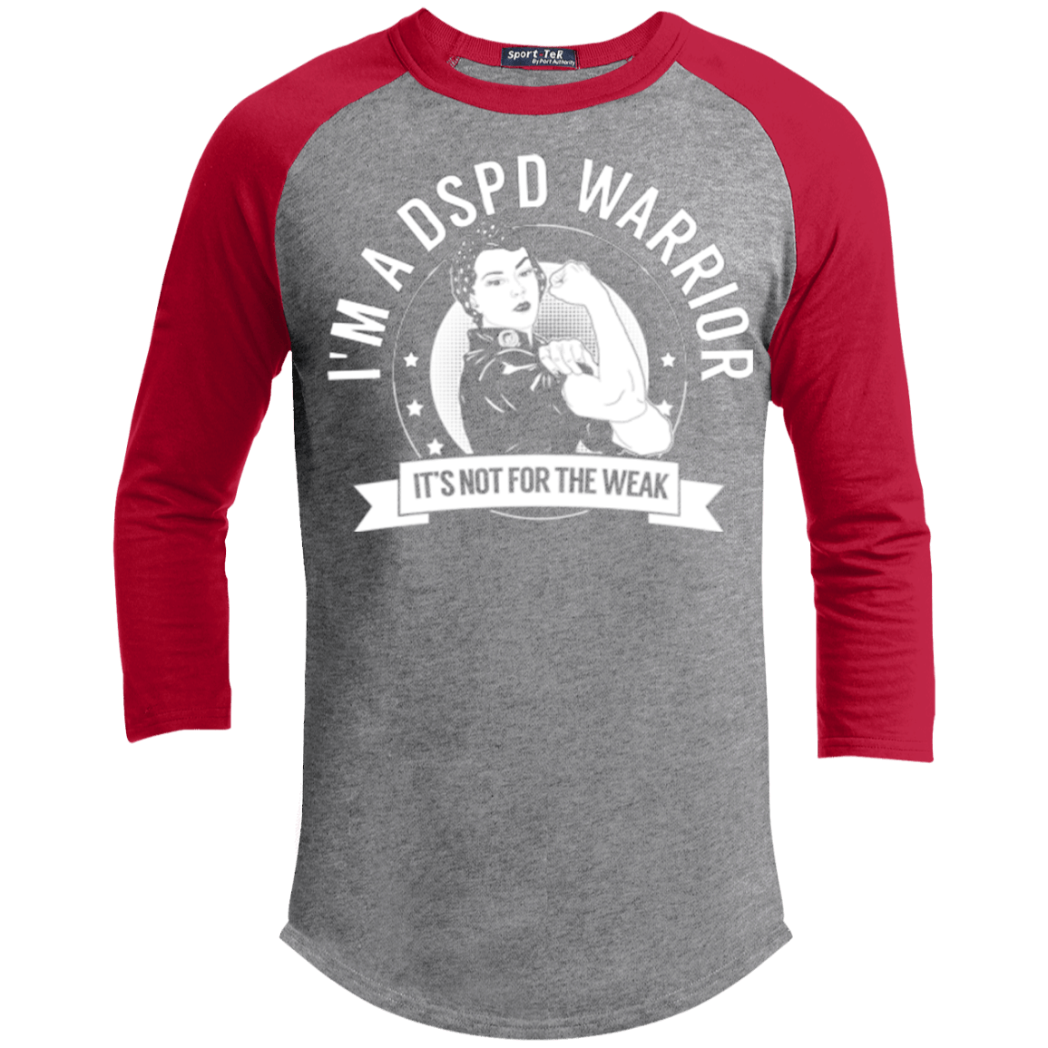 Delayed Sleep Phase Disorder - DSPD Warrior Not For The Weak Baseball Shirt - The Unchargeables