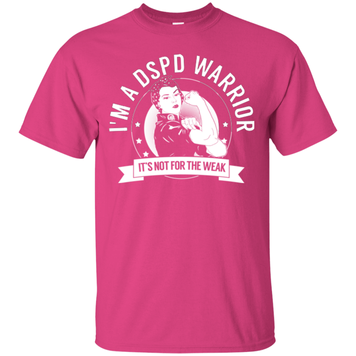 Delayed Sleep Phase Disorder - DSPD Warrior Not For The Weak Cotton T-Shirt - The Unchargeables