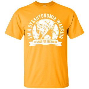 Dysautonomia Warrior Hooded Cotton T-Shirt - The Unchargeables