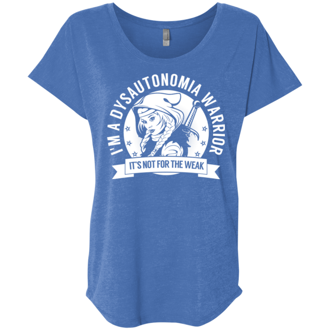 Dysautonomia Warrior Hooded Dolman Sleeve - The Unchargeables