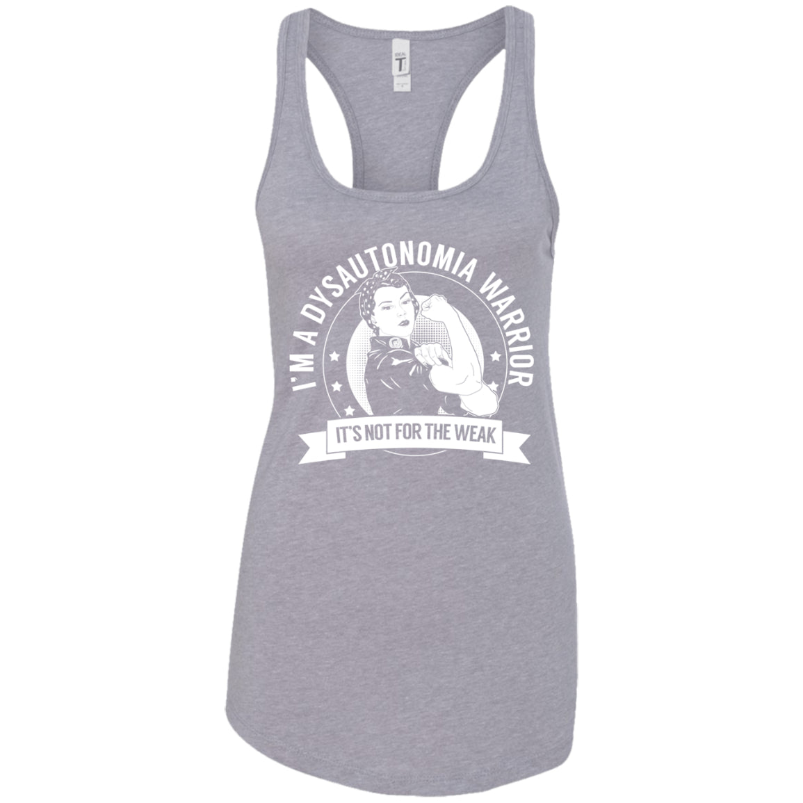 Dysautonomia Warrior NFTW Ideal Racerback Tank - The Unchargeables