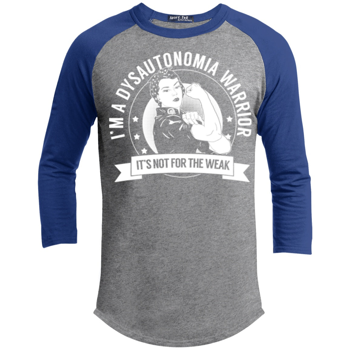 Dysautonomia Warrior Not For The Weak Baseball Shirt - The Unchargeables