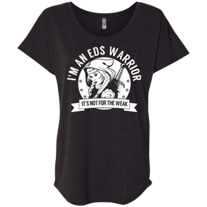 Ehlers Danlos Syndrome - EDS Warrior Hooded Dolman Sleeve - The Unchargeables