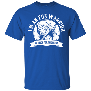 Ehlers Danlos Syndrome - EDS Warrior Hooded Unisex Shirt - The Unchargeables