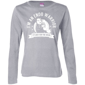 T-Shirts - Endo Warrior Womens Long Sleeve Shirt
