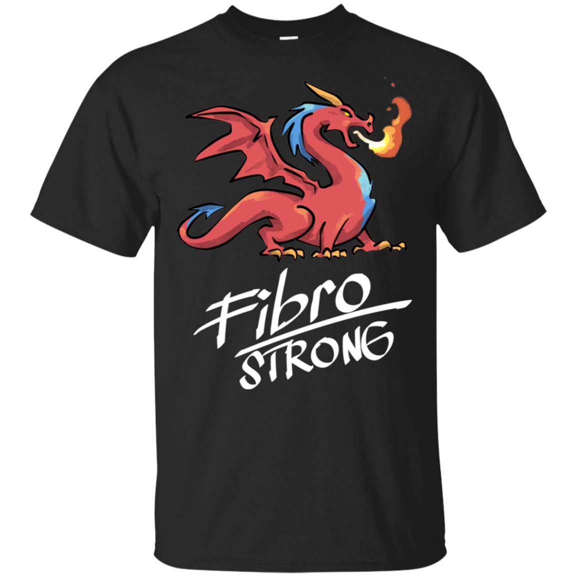 Fibro Strong Dragon Cotton Unisex Shirt - The Unchargeables