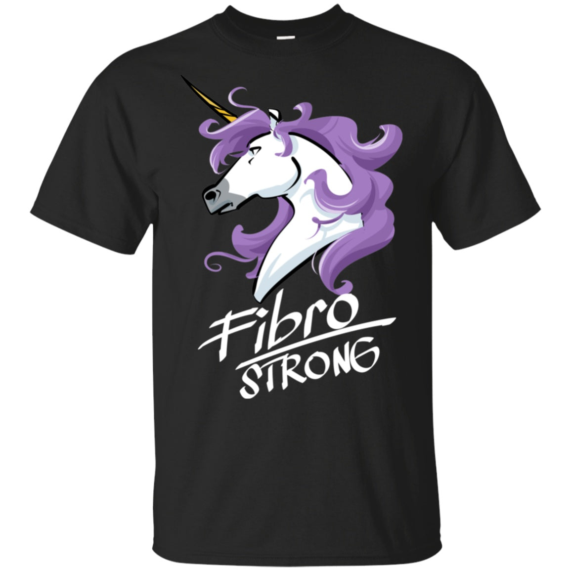 Fibro Strong Unicorn Cotton Unisex Shirt - The Unchargeables