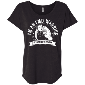 Fibromuscular Dysplasia -  FMD Warrior Not For The Weak  Dolman Sleeve - The Unchargeables