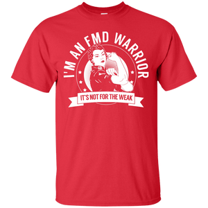 Fibromuscular Dysplasia - FMD Warrior Not For The Weak Unisex Shirt - The Unchargeables