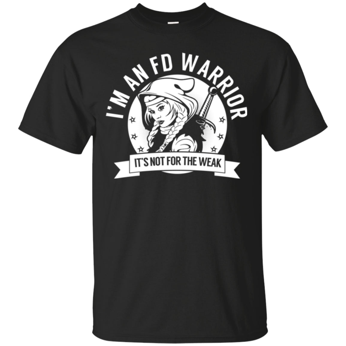 Fibrous Dysplasia - FD Warrior Hooded Unisex Shirt - The Unchargeables