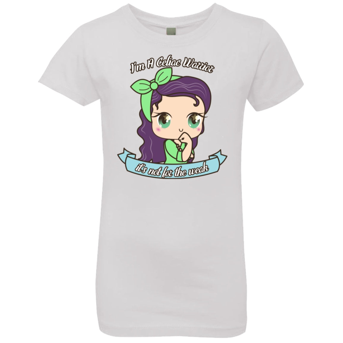 Girls' Princess T-ShirtCute Celiac Warrior - The Unchargeables