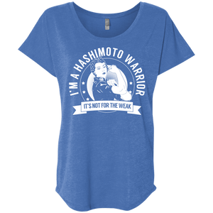 Hashimoto's Disease - Hashimoto Warrior Not For The Weak Dolman Sleeve - The Unchargeables