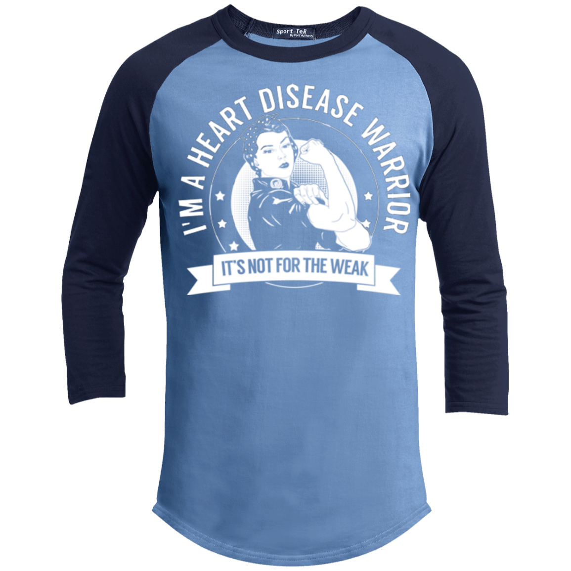Heart Disease Warrior Not For The Weak Baseball Shirt - The Unchargeables