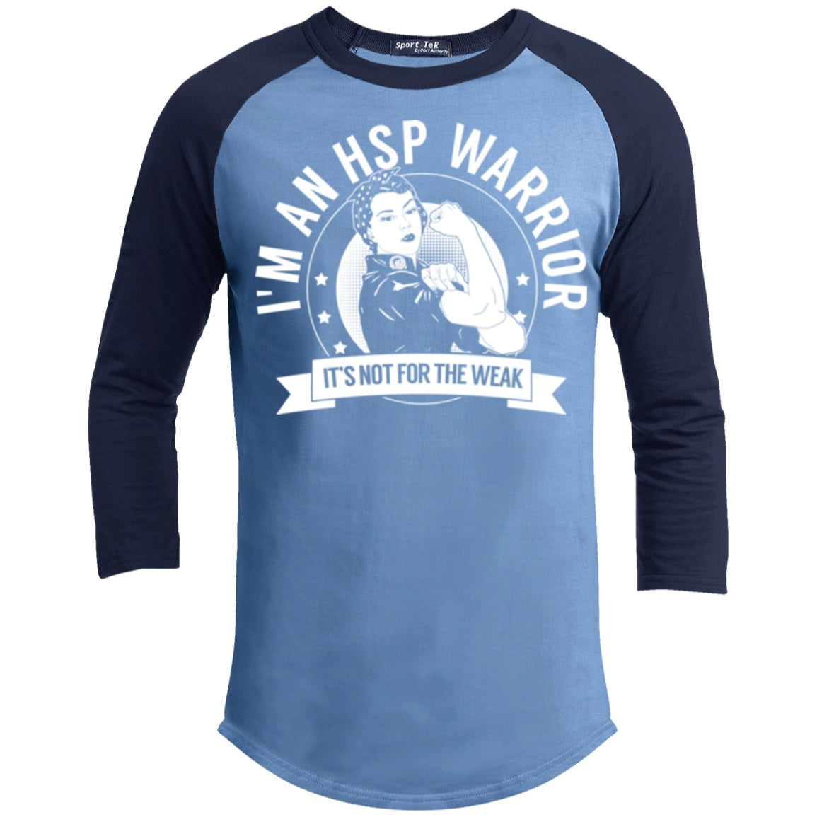 Hereditary Spastic Paraparesis - HSP Warrior Not For The Weak Baseball Shirt - The Unchargeables