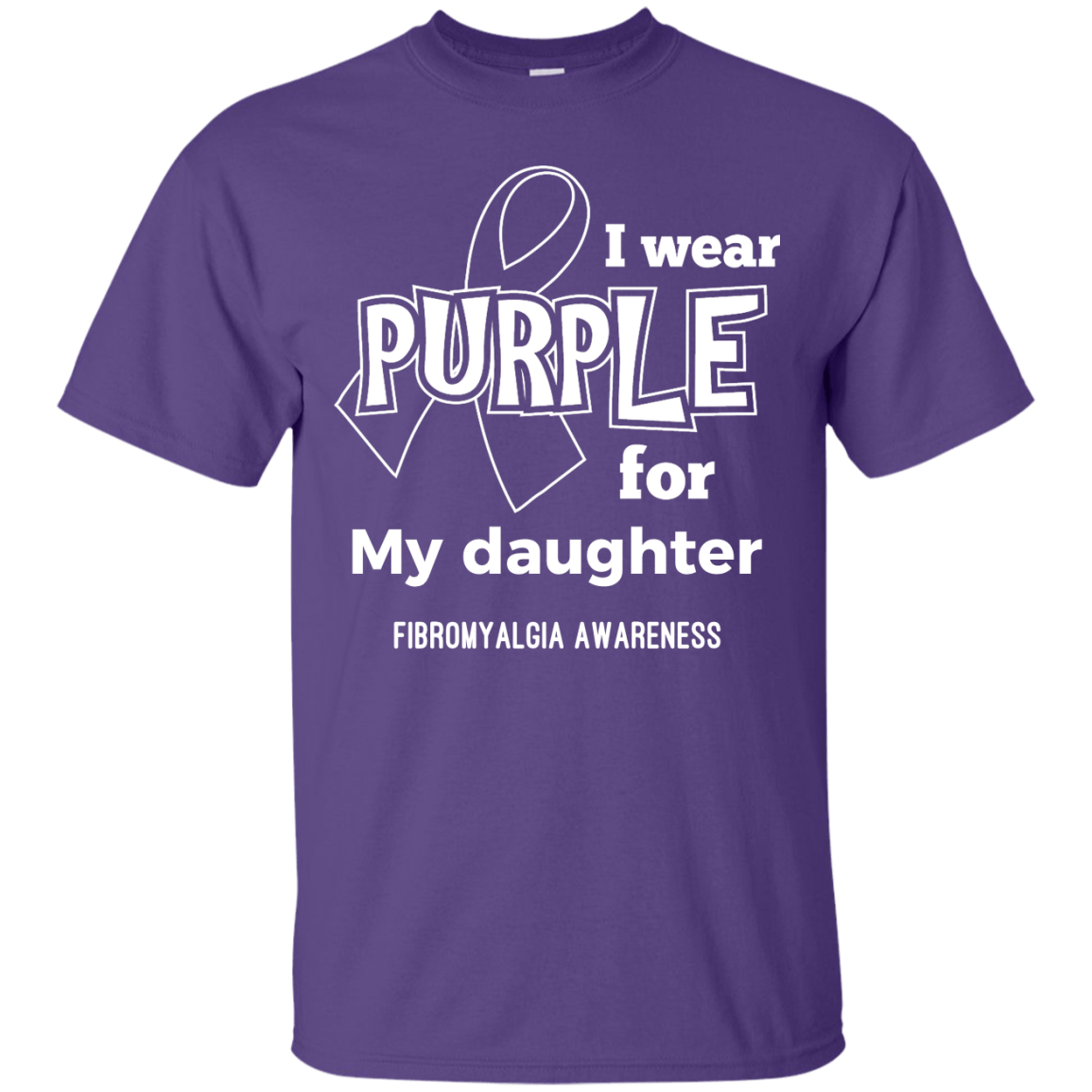 I Wear Purple For Unisex Shirt - The Unchargeables