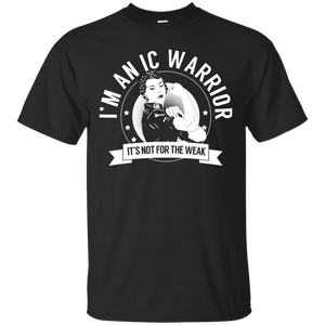 T-Shirts - Interstitial Cystitis - IC Warrior Not For The Weak Cotton T-Shirt