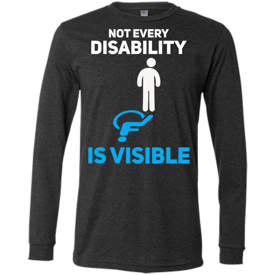 Invisible Disability Men's Jersey Long Sleeve - The Unchargeables