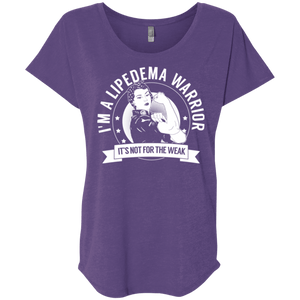 T-Shirts - Lipedema Warrior Not For The Weak Dolman Sleeve