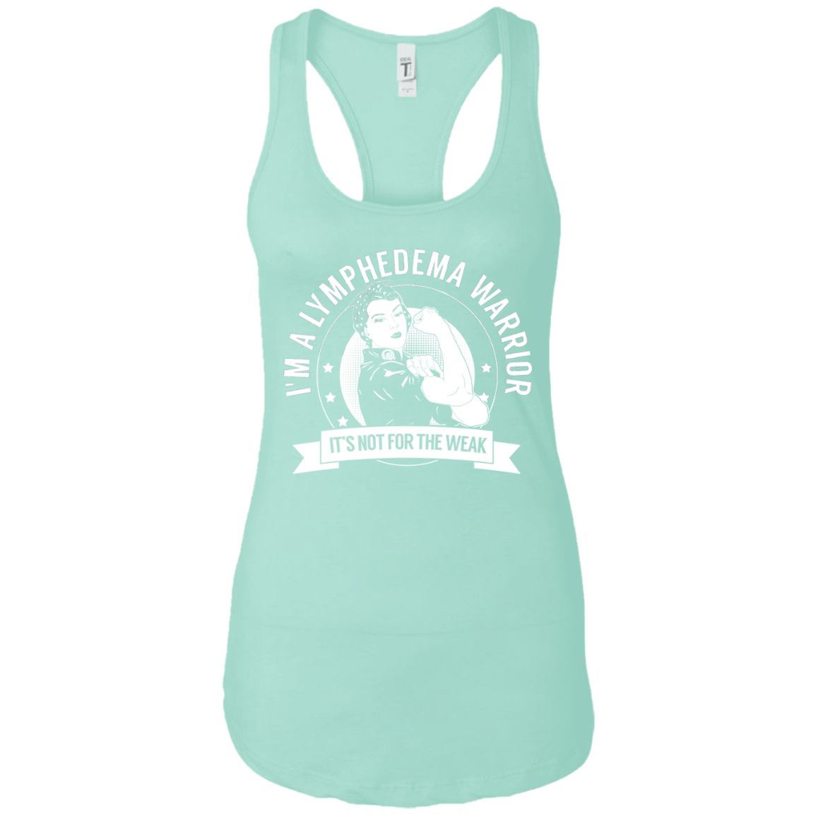 Lymphedema Warrior NFTW Ideal Racerback Tank - The Unchargeables