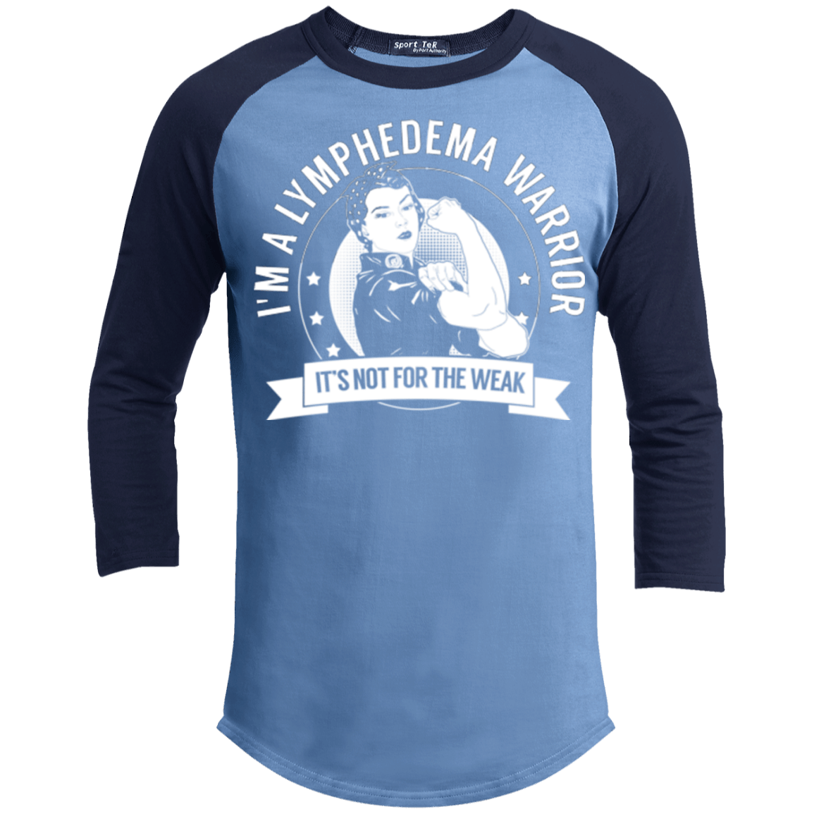 Lymphedema Warrior Not For The Weak Baseball Shirt - The Unchargeables
