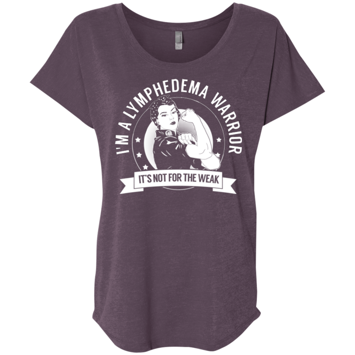 Lymphedema Warrior Not For The Weak Dolman Sleeve - The Unchargeables