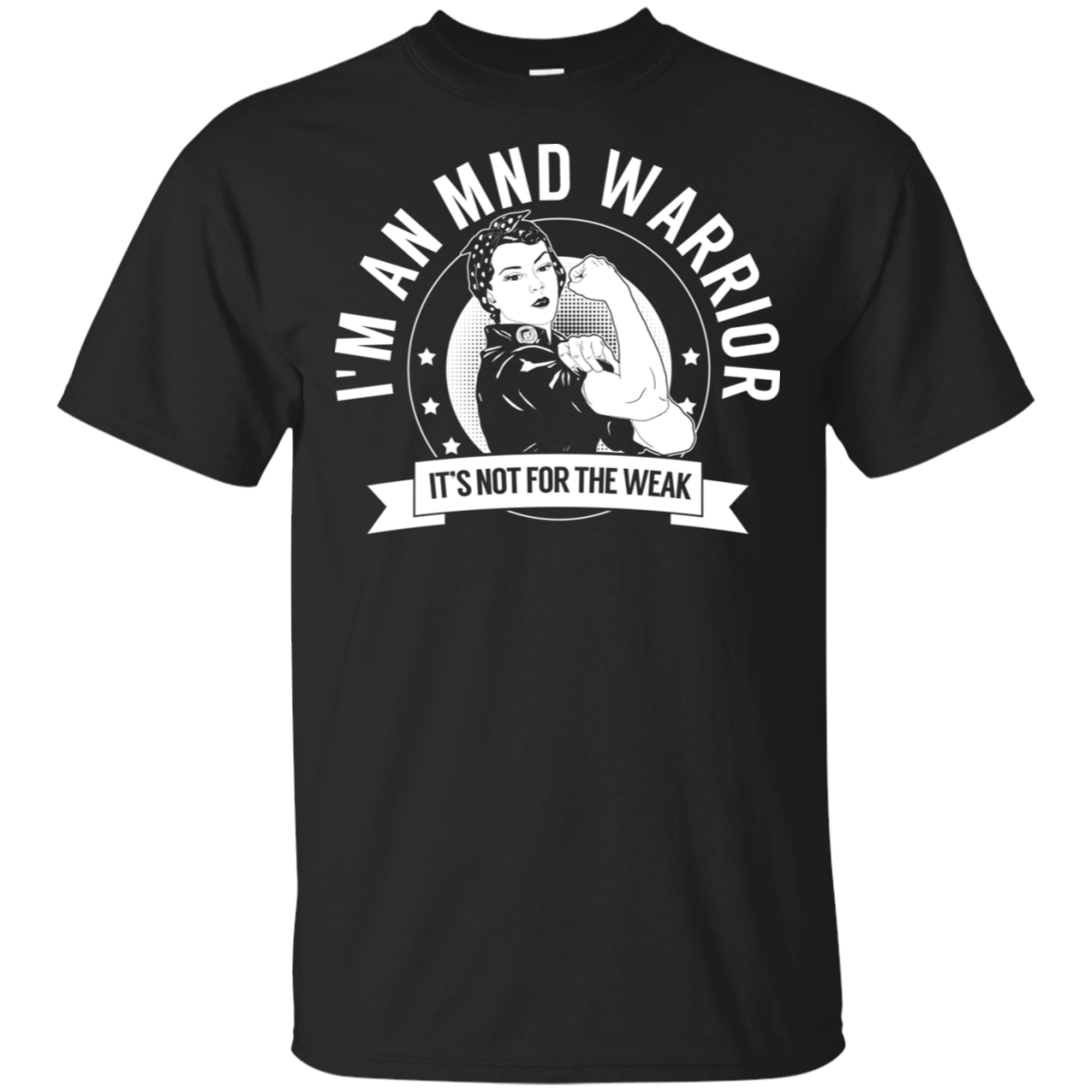 Motor Neurone Disease - MND Warrior NFTW Cotton Unisex Shirt - The Unchargeables