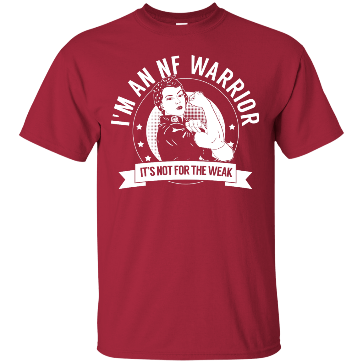T-Shirts - Neurofibromatosis - NF Warrior Not For The Weak Unisex Shirt