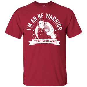 Neurofibromatosis - NF Warrior Not For The Weak Unisex Shirt - The Unchargeables