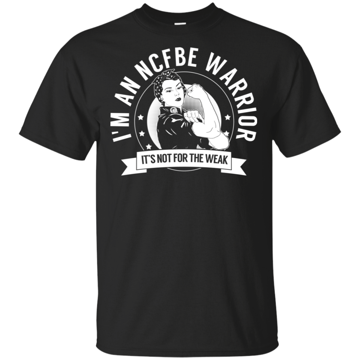 Non-cystic fibrosis bronchiectasis -  NCFBE Warrior NFTW Cotton Unisex Shirt