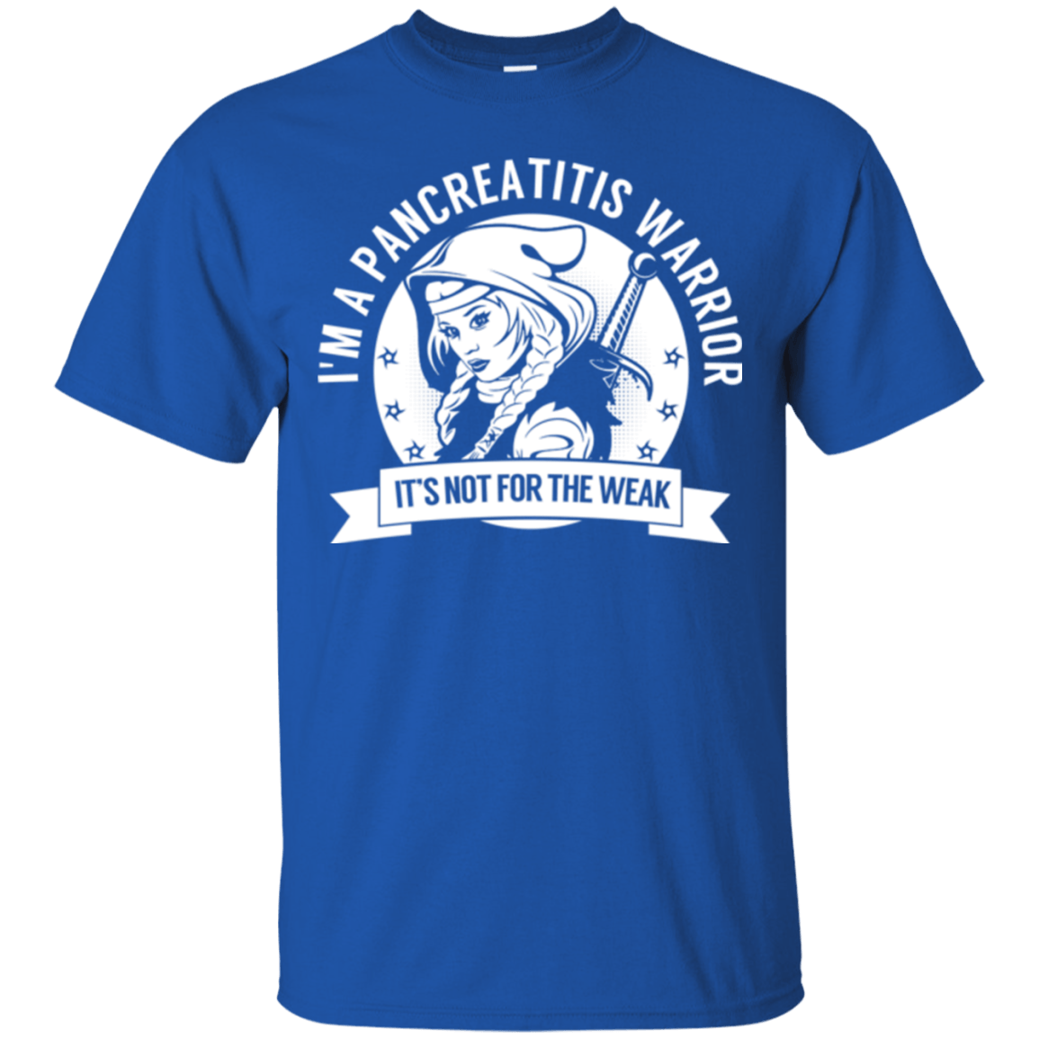Pancreatitis Warrior Hooded Cotton T-Shirt - The Unchargeables