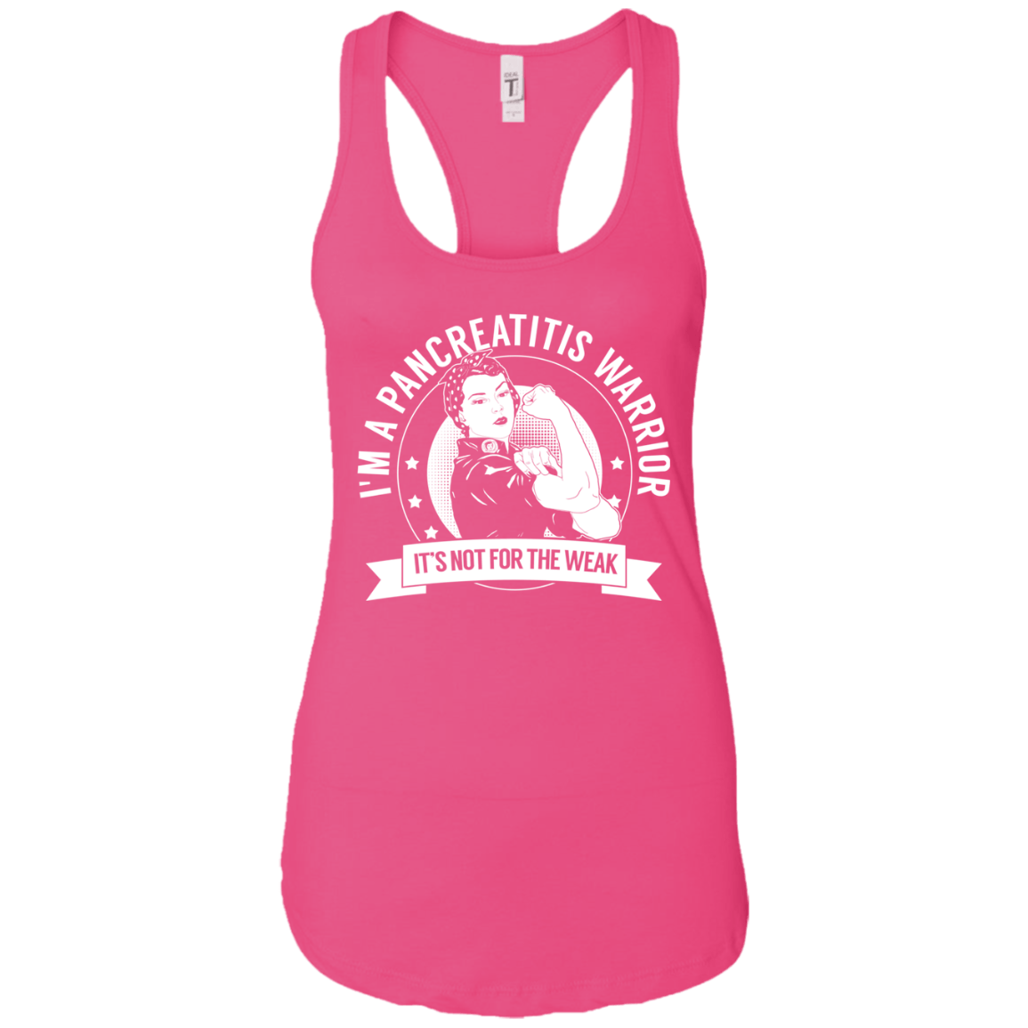 Pancreatitis Warrior NFTW Ideal Racerback Tank - The Unchargeables
