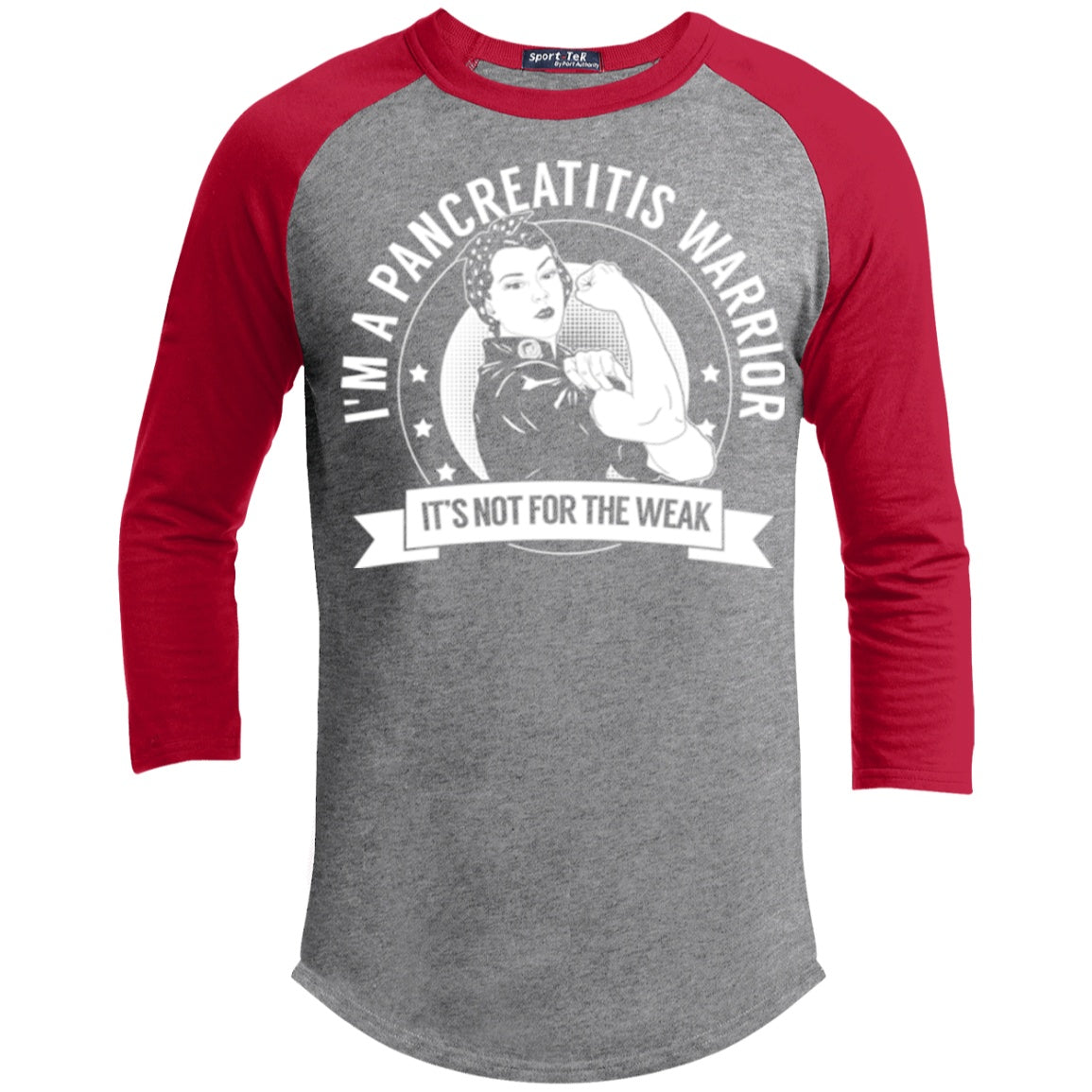 Pancreatitis Warrior Not For The Weak Baseball Shirt - The Unchargeables