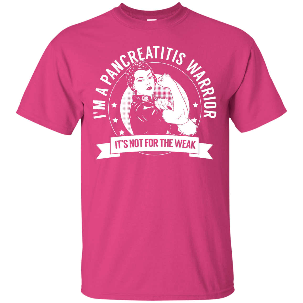 Pancreatitis Warrior Not For The Weak Unisex Shirt - The Unchargeables