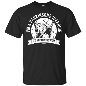Parkinsons Warrior Hooded Cotton T-Shirt - The Unchargeables