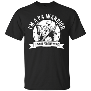 Pernicious Anaemia - PA Warrior Hooded Cotton T-Shirt - The Unchargeables