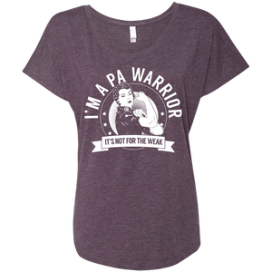 T-Shirts - Pernicious Anaemia - PA Warrior Not For The Weak Dolman Sleeve