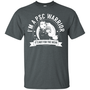 T-Shirts - Primary Sclerosing Cholangitis - PSC Warrior Not For The Weak Unisex Shirt
