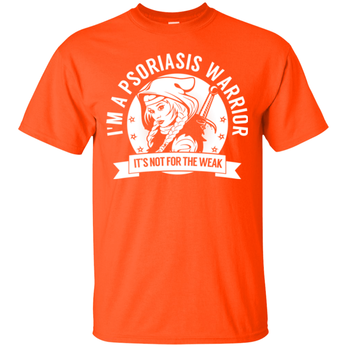 T-Shirts - Psoriasis Warrior Hooded Cotton T-Shirt