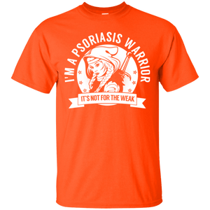 Psoriasis Warrior Hooded Cotton T-Shirt - The Unchargeables