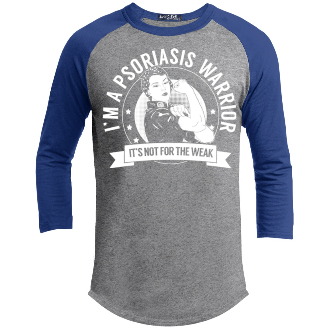T-Shirts - Psoriasis Warrior Not For The Weak Baseball Shirt