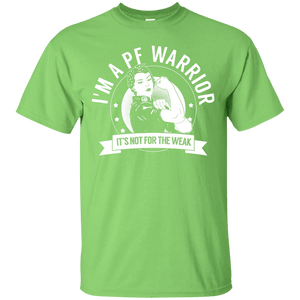 Pulmonary Fibrosis - PF Warrior Not For The Weak Unisex Shirt - The Unchargeables