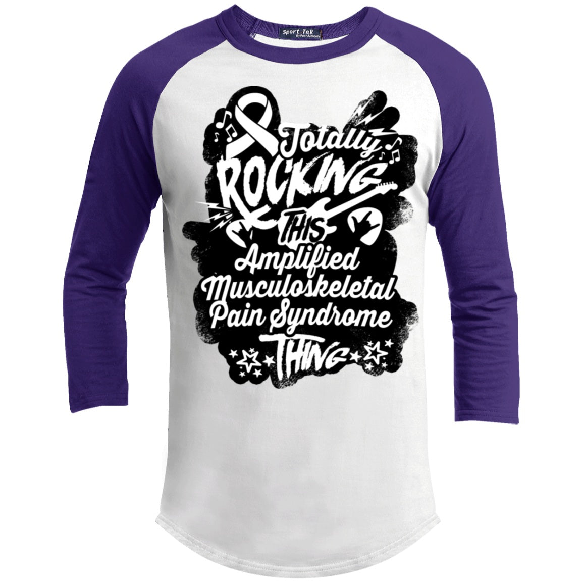 Rocking Amplified Musculoskeletal Pain Syndrome Baseball Shirt