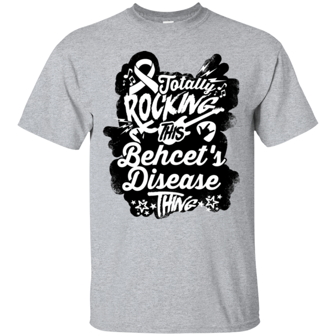 Rocking Behcet's Disease Unisex Shirt - The Unchargeables