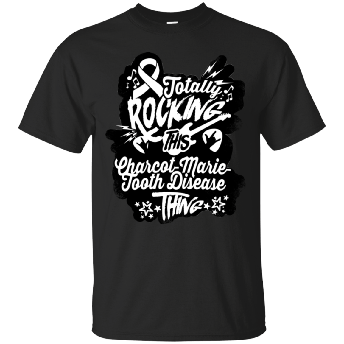 Rocking Charcot-Marie-Tooth Disease Unisex Shirt - The Unchargeables