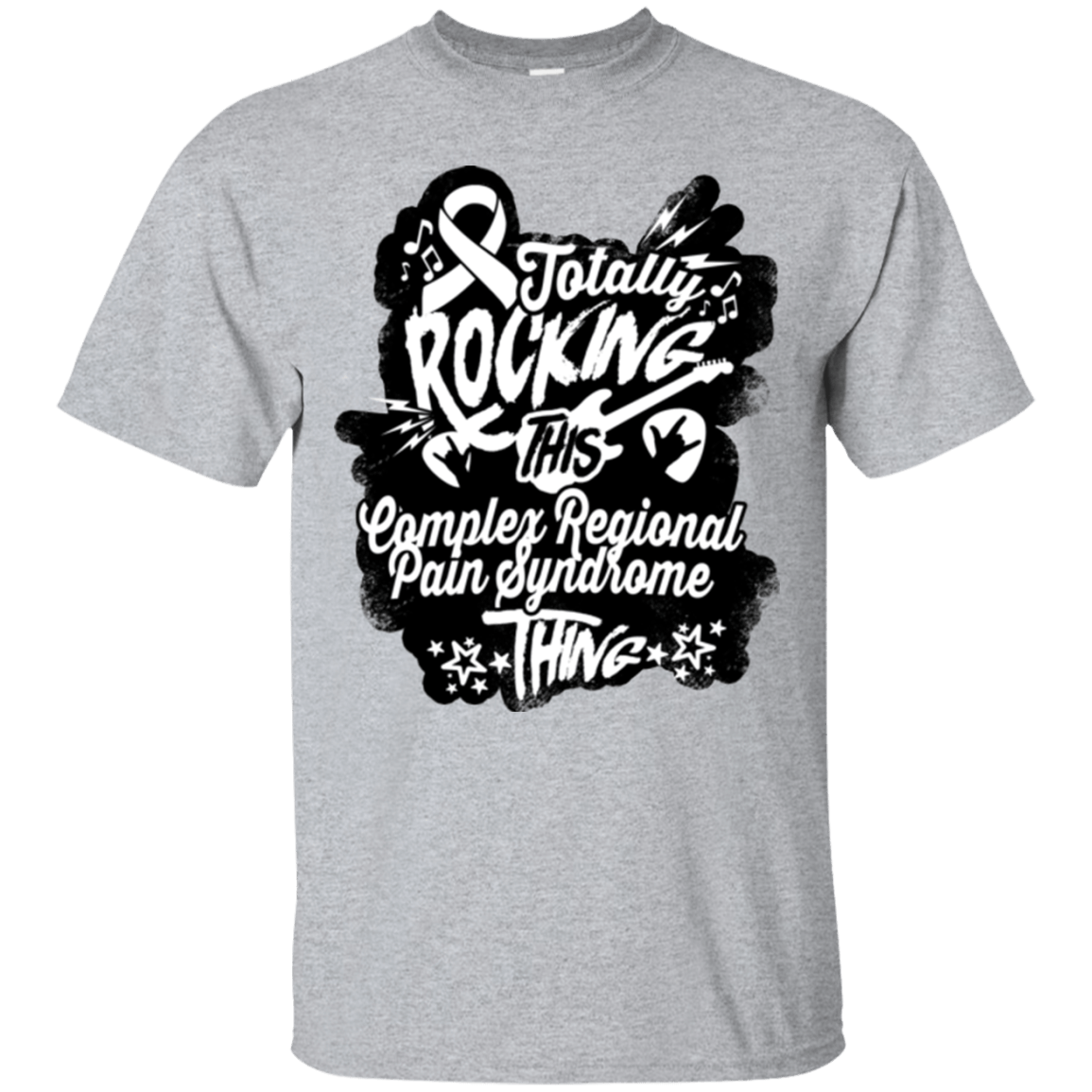 Rocking Complex Regional Pain Syndrome Unisex Shirt - The Unchargeables