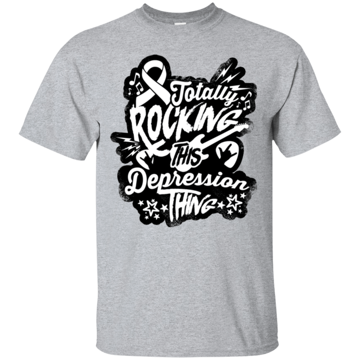 T-Shirts - Rocking Depression Unisex Shirt