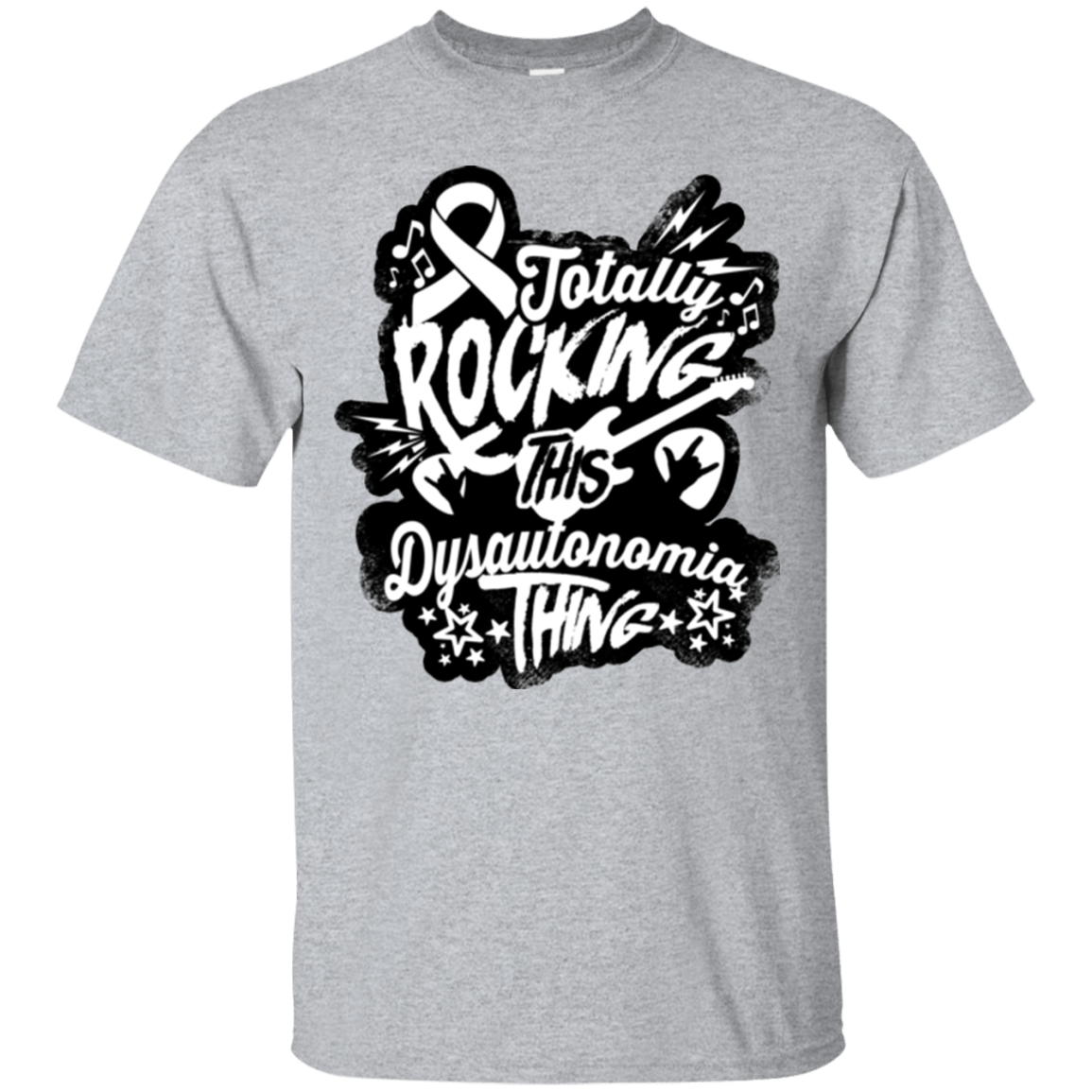 Rocking Dysautonomia Unisex Shirt - The Unchargeables