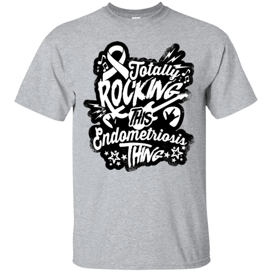 Rocking Endometriosis Unisex Shirt - The Unchargeables