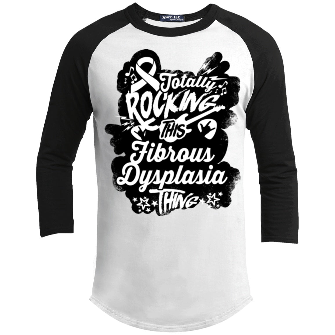 Rocking Fibrous Dysplasia Baseball Shirt - The Unchargeables